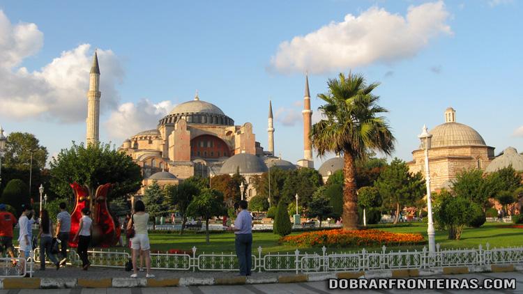 Basílica de Hagia Sophia em Istambul