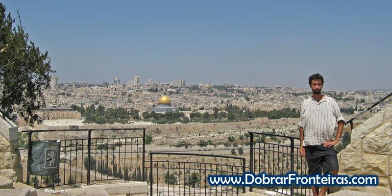Cidade de Jerusalém vista do Monte das Oliveiras