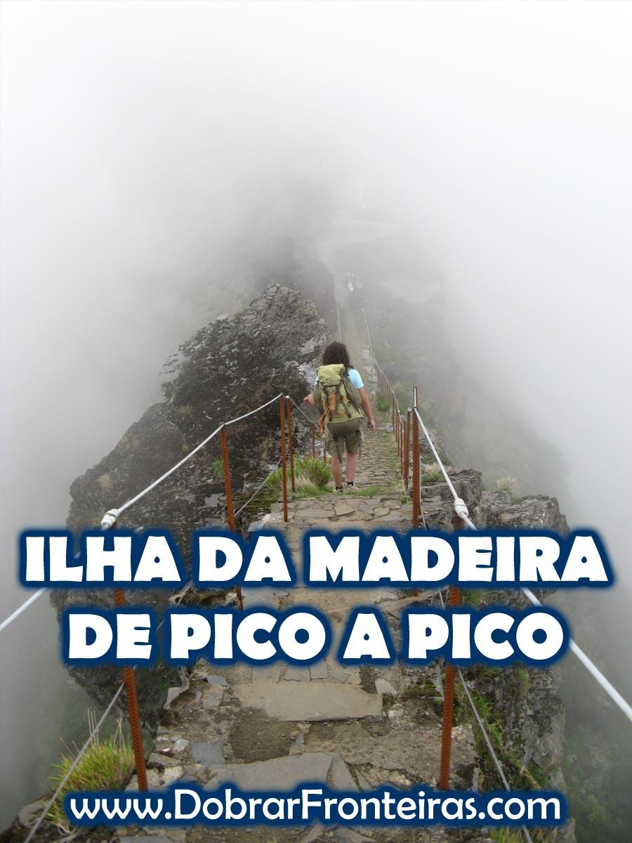 Do Pico do Areeiro ao Pico Ruívo na Ilha da Madeira