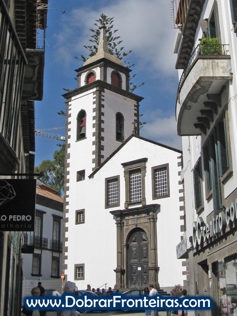 Igreja de São Pedro na cidade do Funchal