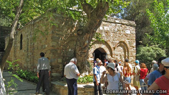 Meryemana, a casa da virgem Maria em Éfesu, Turquia