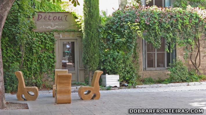 Recanto da cidade de Saint-Rémy-de-Provence