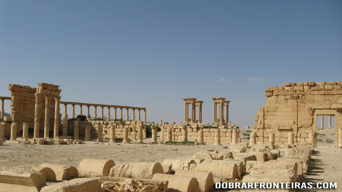 Ágora de Palmira, Síria
