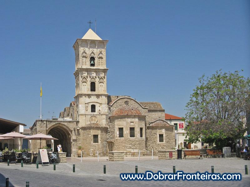 Igreja de São Lazaro em Larnaca, Chipre