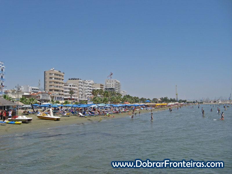 Praia de Larnaca, Chipre