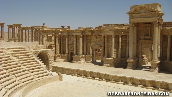 Anfiteatro de Palmira, Síria