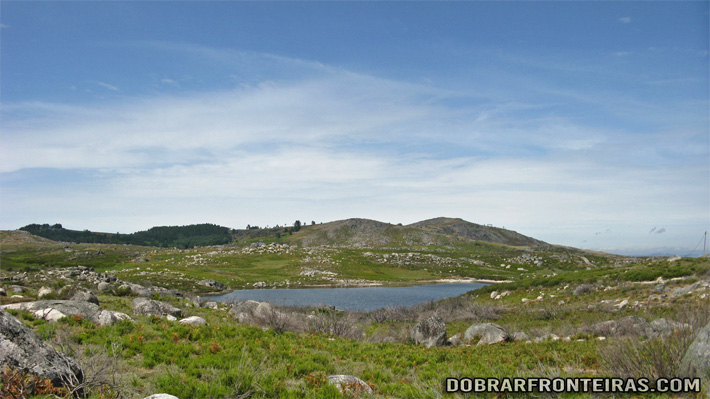 Lagoa no Parque Natural do Alvão