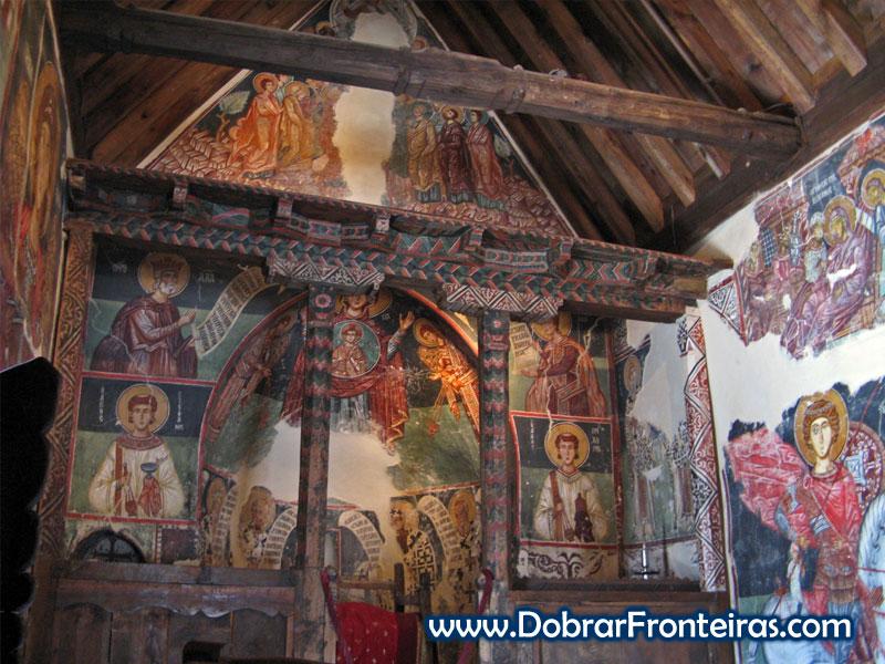 igreja troodos Chipre