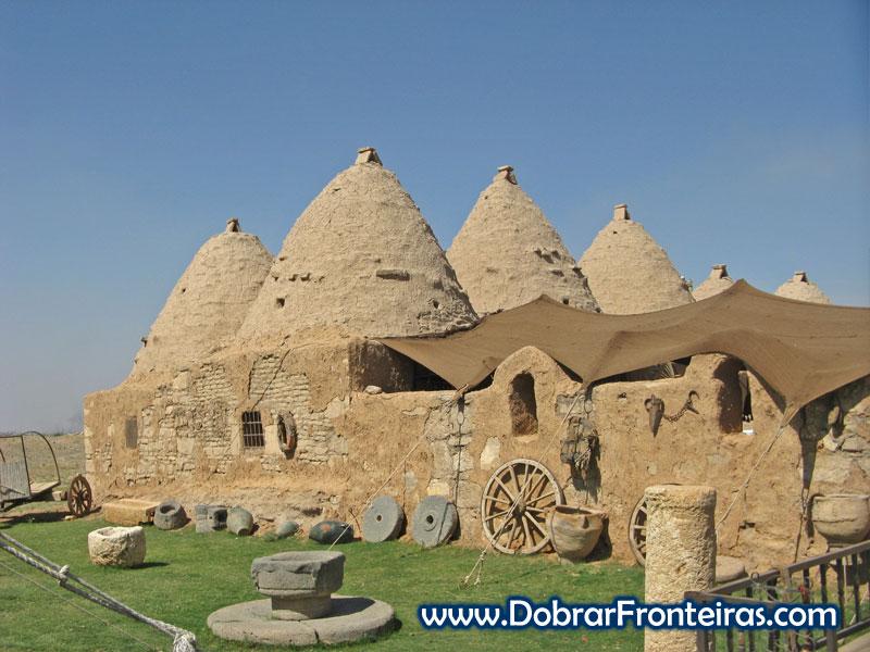 Casas colmeia em Harran