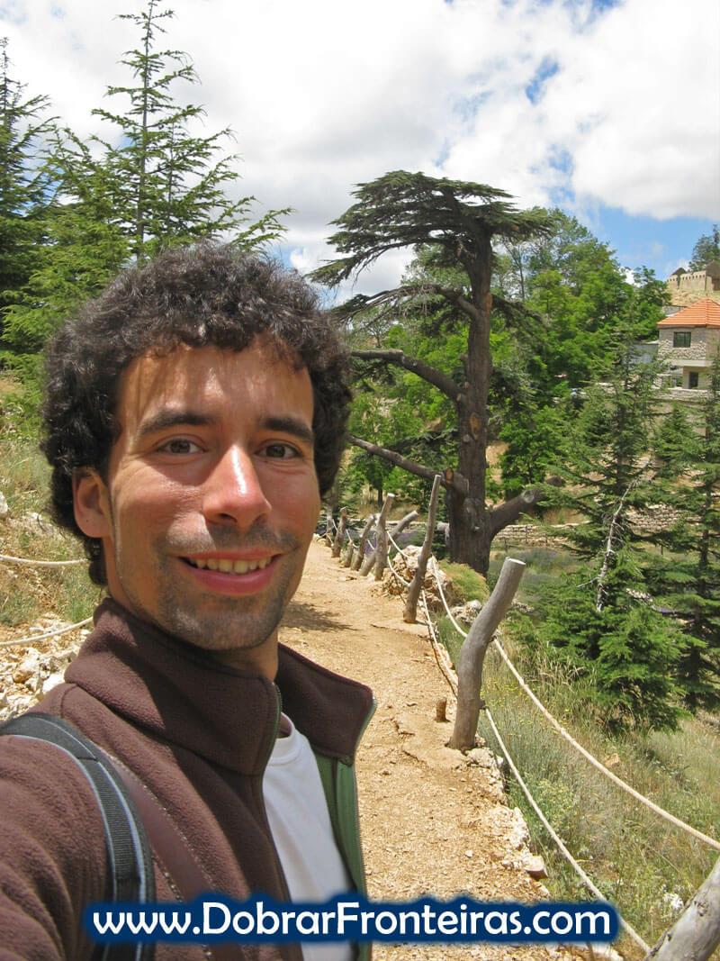 selfie cedros libano