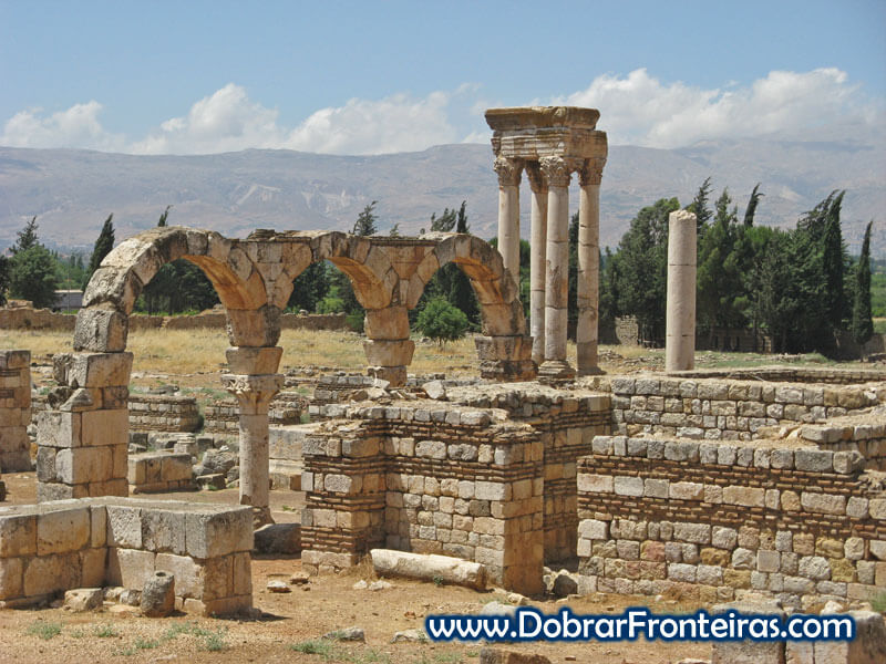 Ruínas de Anjar Líbano