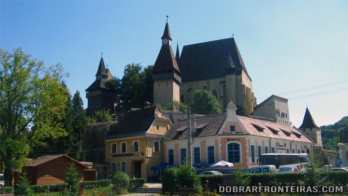 Igreja fortificada de Biertan, uma das mais imponentes da Transilvânia