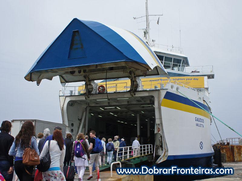 embarque ferry malta