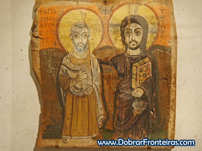 Jesus e o padre Mena