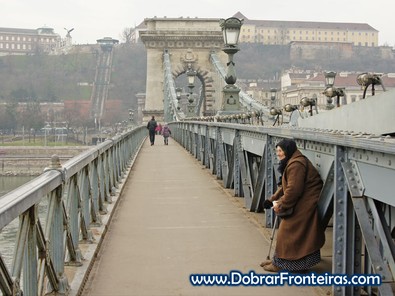 chain bridge Budapeste