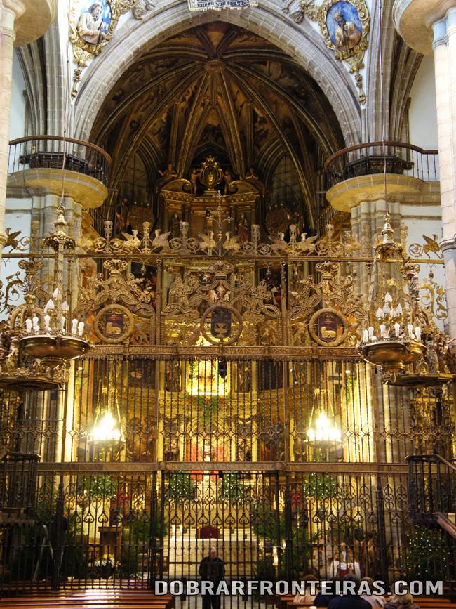 Altar Mor do mosteiro de Guadalupe, Espanha