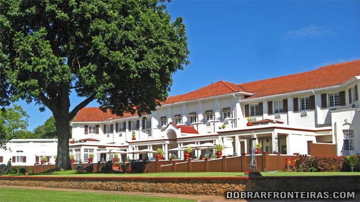 Victoria Falls Hotel, no Zimbábue