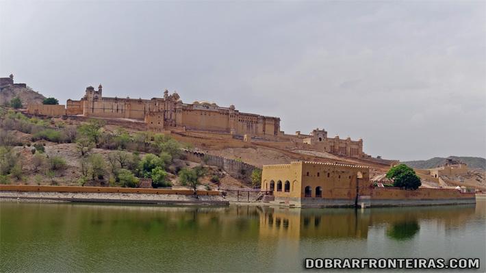 Forte de Amber, no Rajastão, Índia