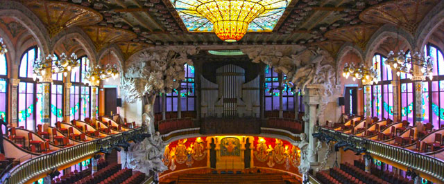Palácio da música Catalã, Barcelona