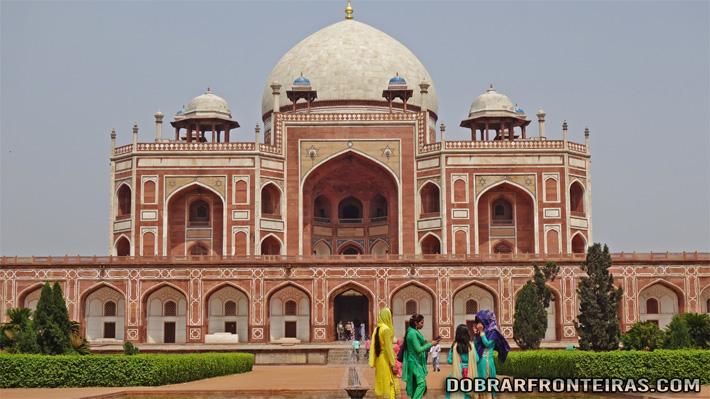 Túmulo de Humayun em Deli , Índia