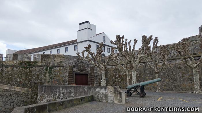 Forte de São Brás em Ponta Delgada, Açores