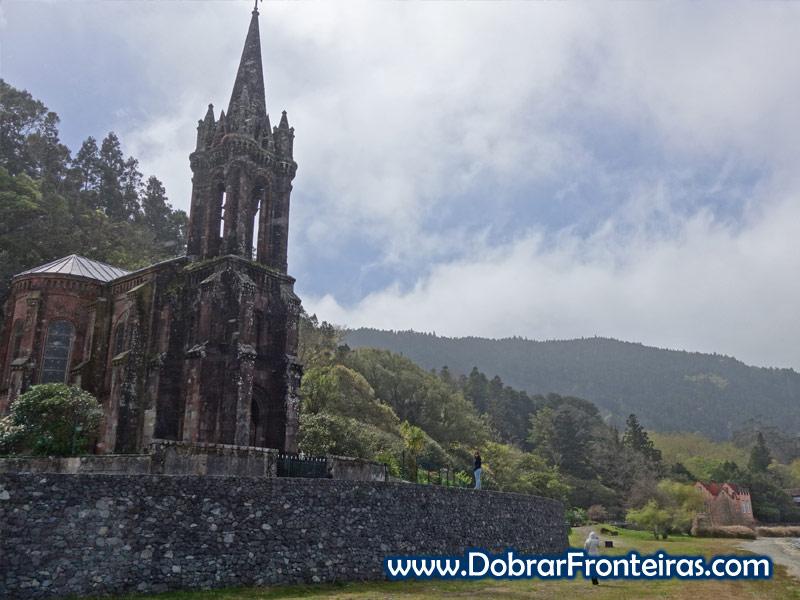 Igreja da Senhora da Vitória, Furnas, Açores