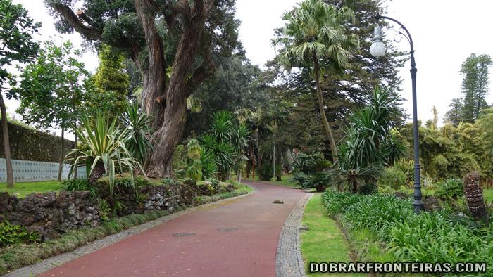 Jardim botânico José do Canto em Ponta Delgada, Açores