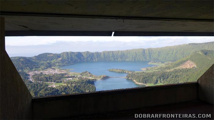 """""""A room with a view"""" no hotel abandonado das Sete Cidades"""
