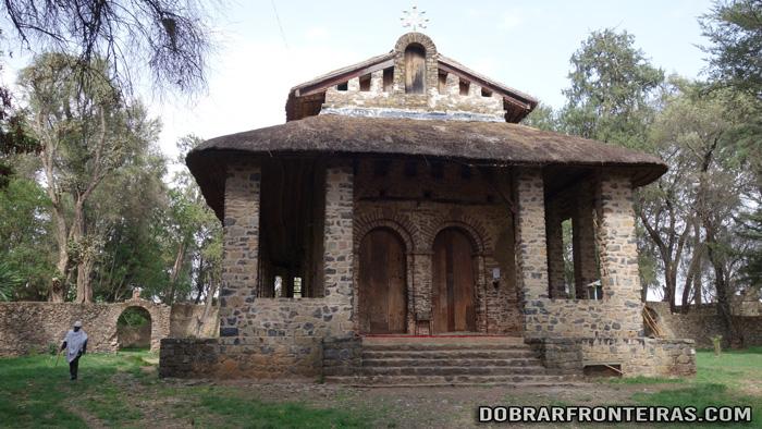 Igreja de Debre Birhan Selassie em Gondar