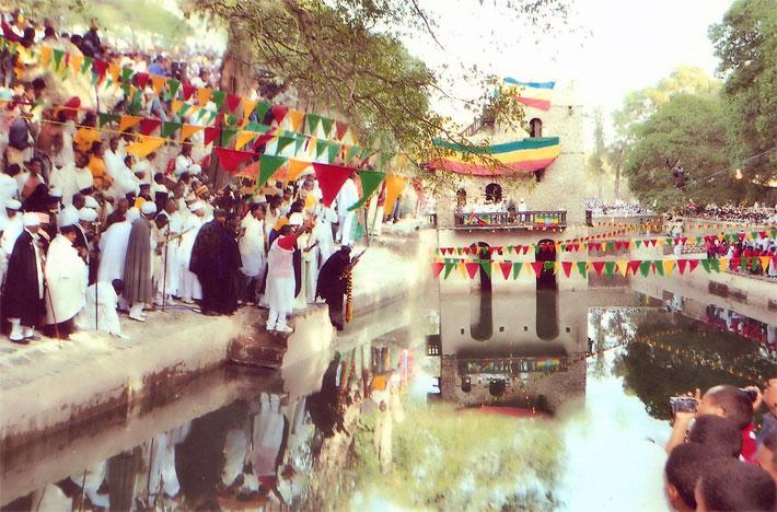 Cerimónia do Timkat em Gondar