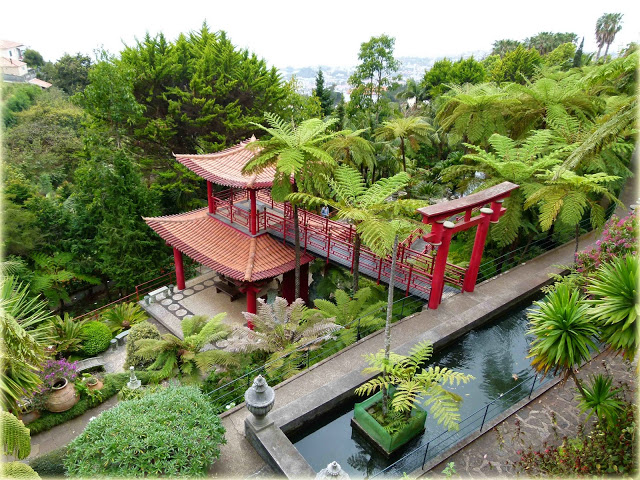 Jardim Tropical Monte Palace no Funchal
