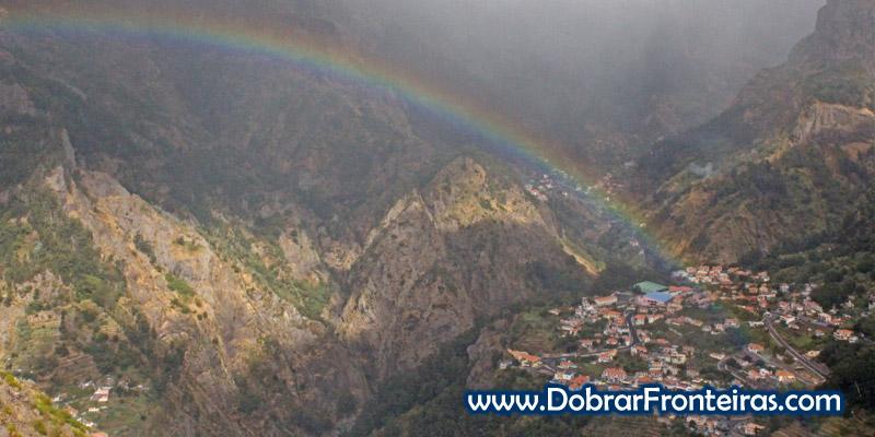 Curral das Freiras na ilha da Madeira