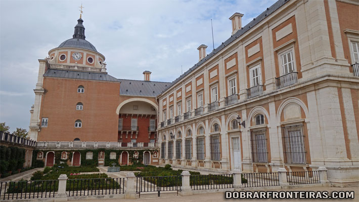Jardim do Rei no palácio de Aranjuez, Espanha