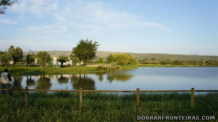 A lagoa pequena do Arrimal