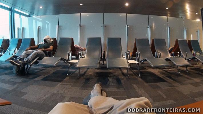 """""""Quiet Room"""" - Sala de descanso no aeroporto de Doha, Qatar"""