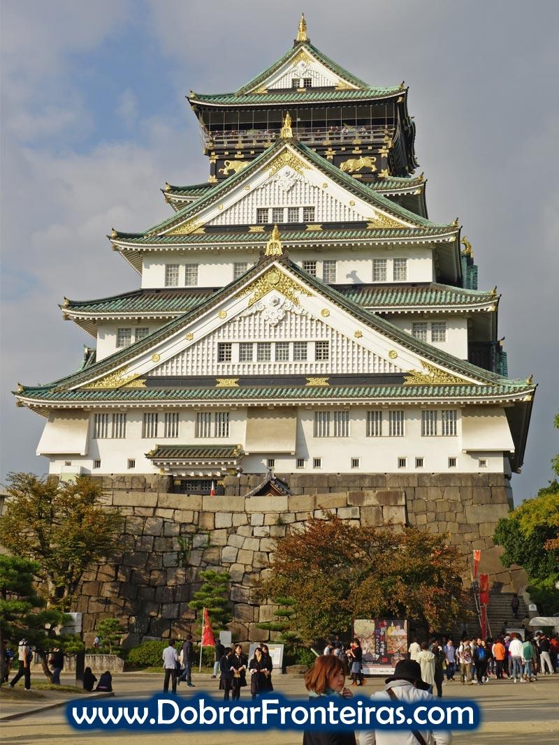 Torre do castelo de Osaka