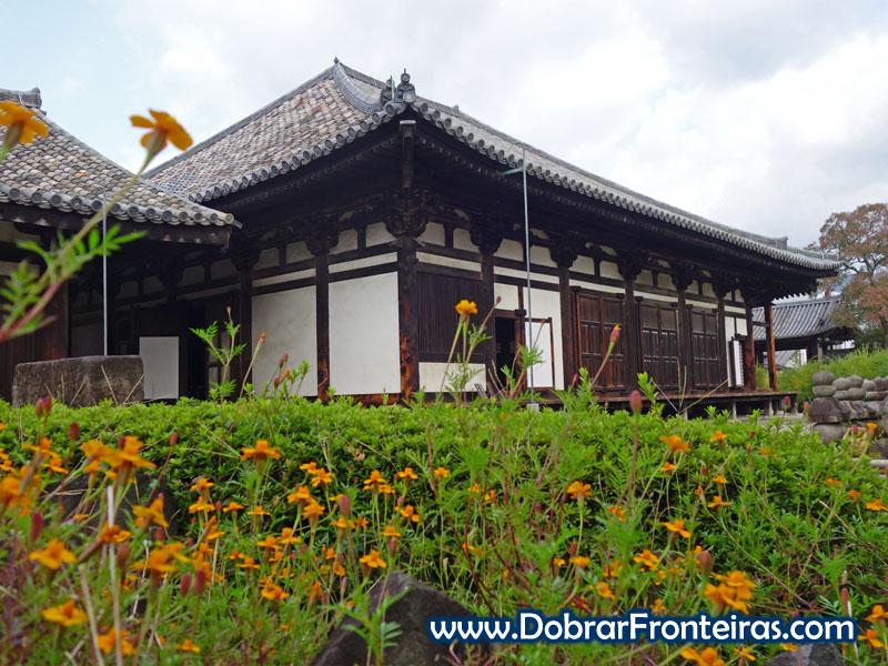 Templo de Gangoji em Nara