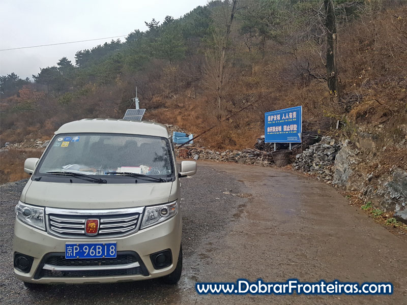 taxi muralha china