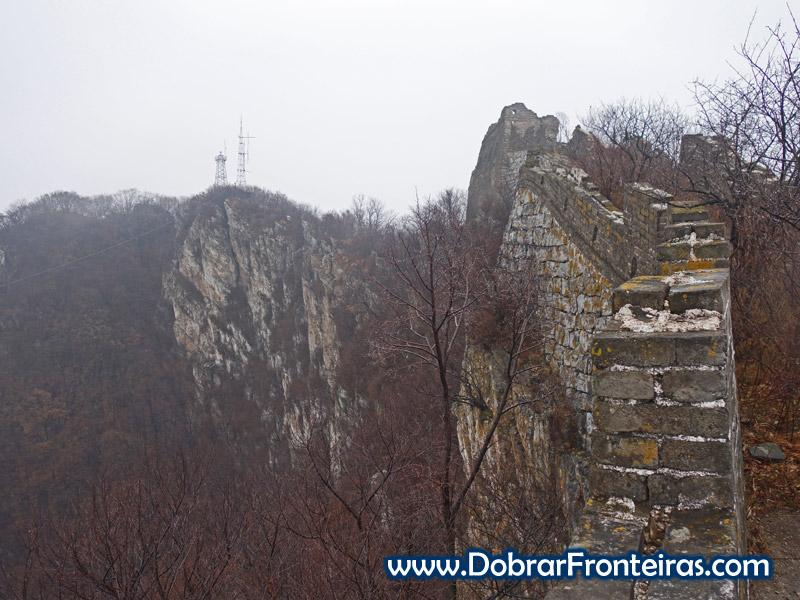 muralha china chifre boi