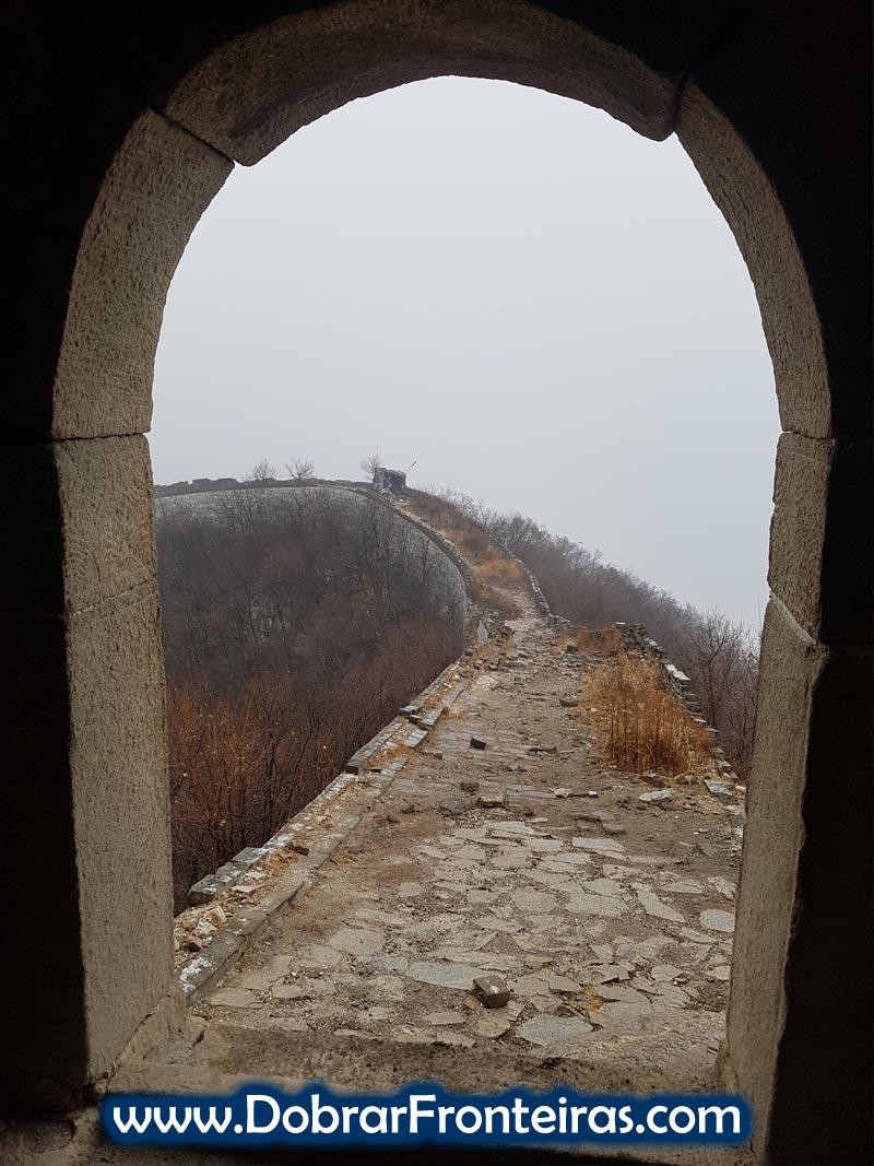 muralha da china ruinas porta