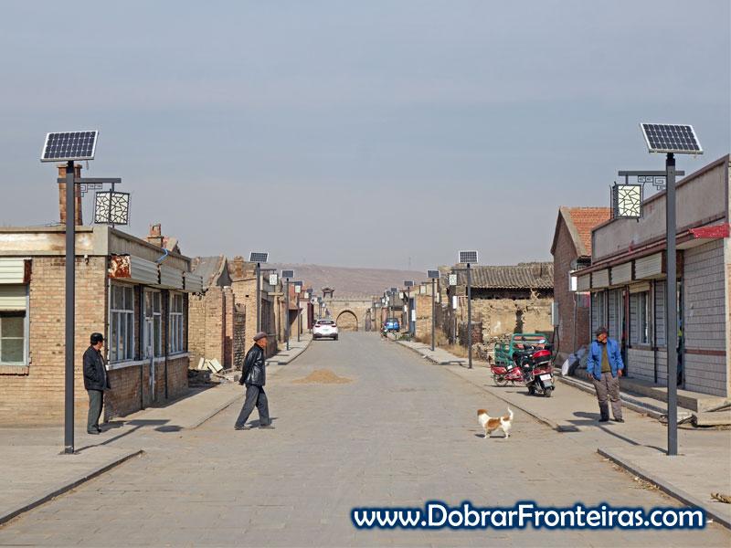 Deshengbao rua aldeia