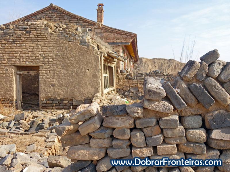 Deshengbao tijolos casa