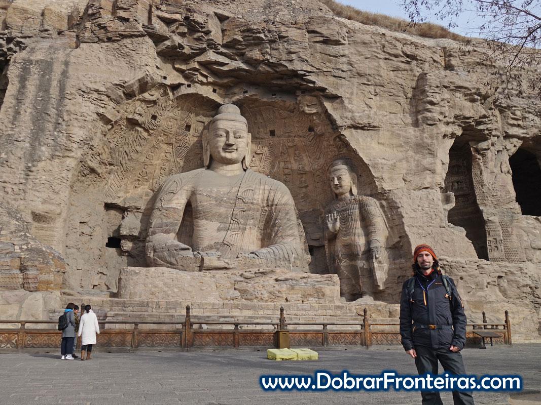 estátua Buda gruta Yungang Datong