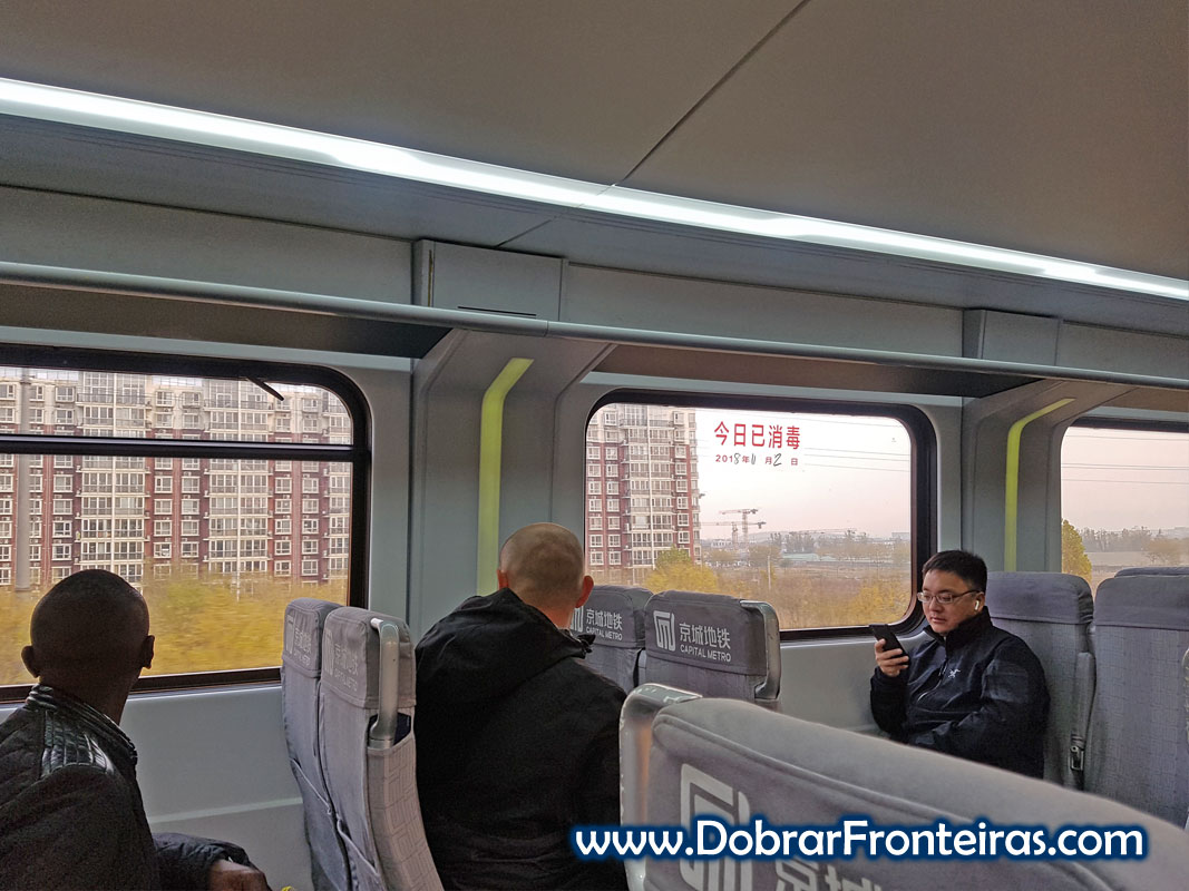 Comboio aeroporto Pequim