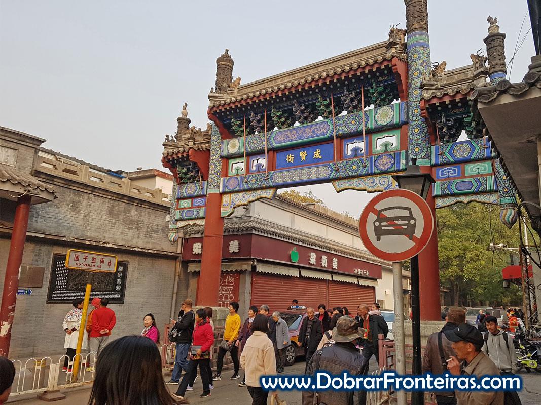 Hutong em Pequim