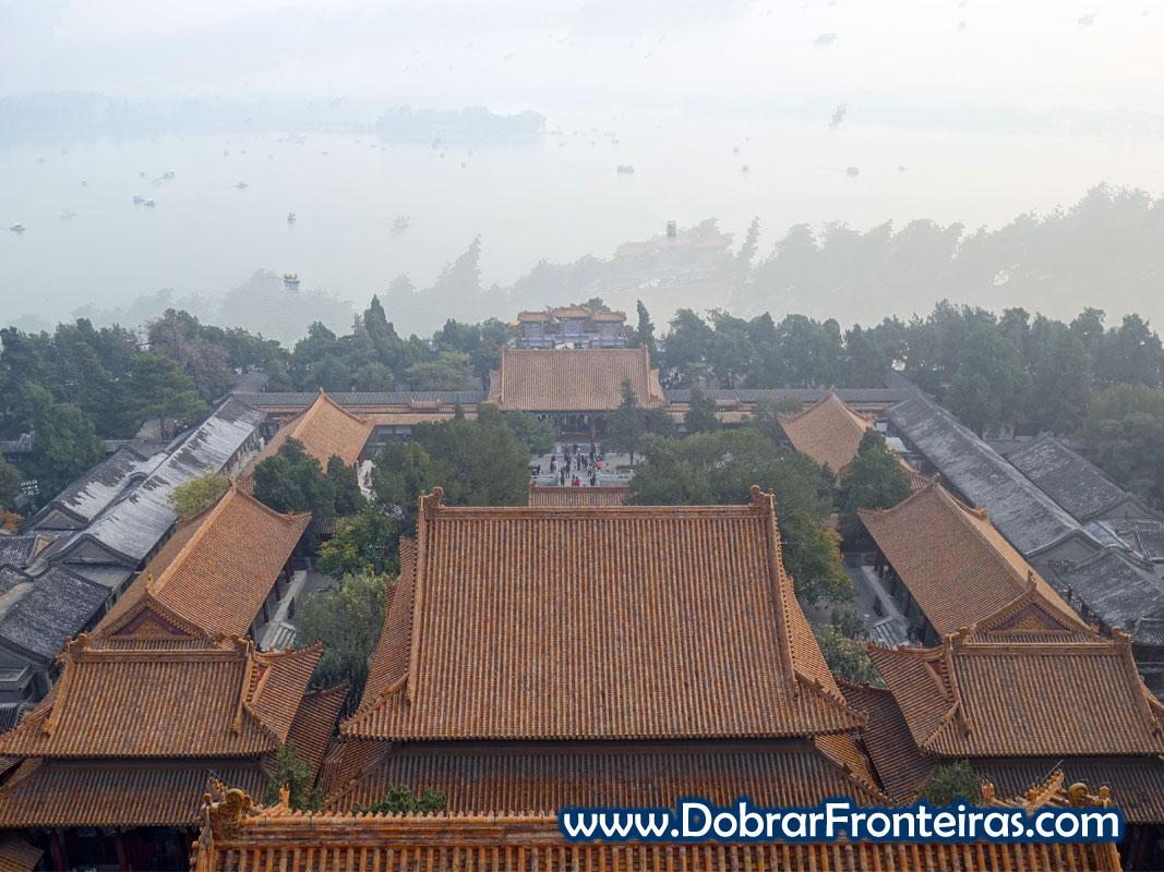 Edifícios palácio de Verão de Pequim