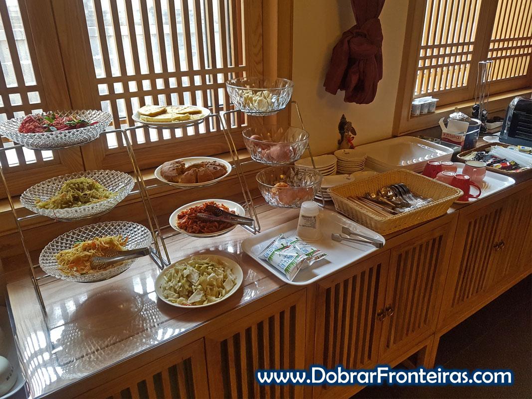 Pequeno almoço hotel Datong