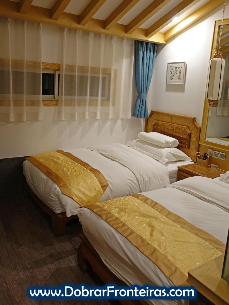 Quarto Hotel Datong China