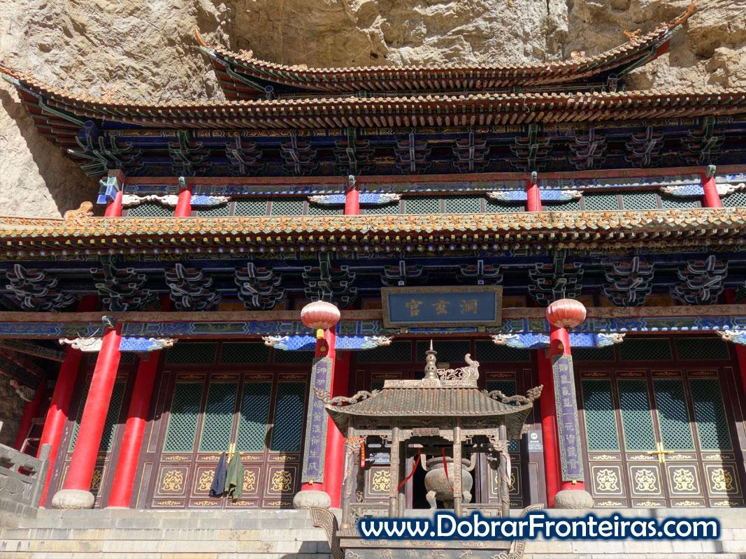 templo taoísta em Mianshan