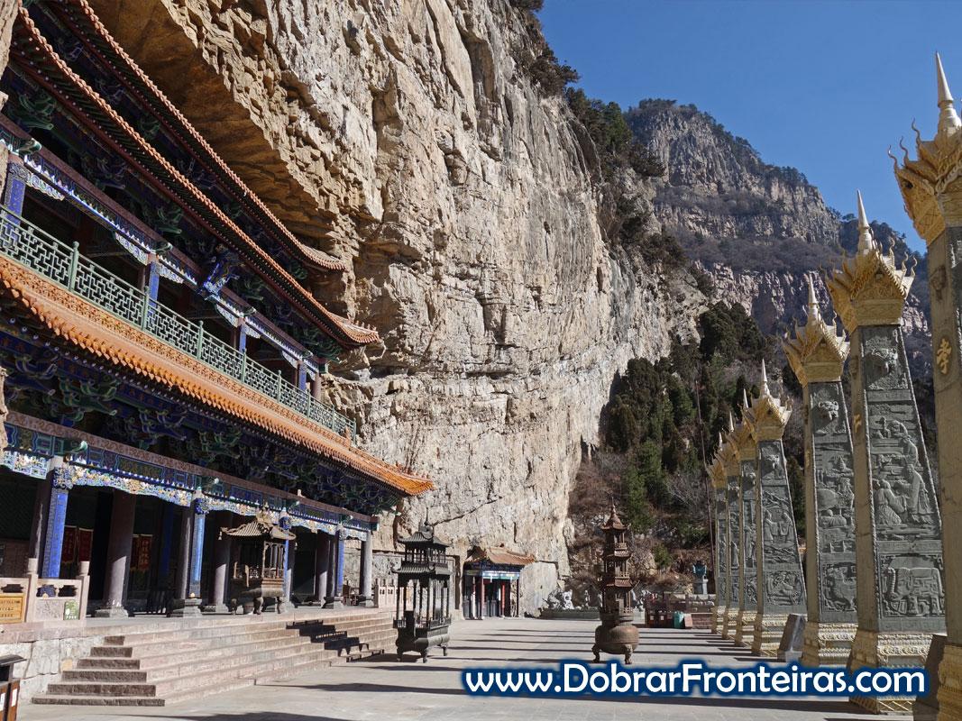 Hotel de montanha com elevador panorâmico em Mianshan, China